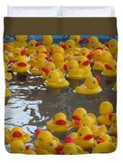 Rubber Duckies Duvet Cover