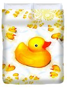 Rubber Ducks Duvet Cover