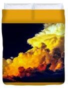 Rubber Ducky Elephant Clouds  Duvet Cover