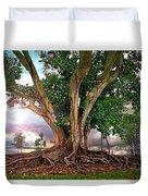 Rubber Tree Duvet Cover