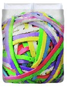 Rubberband Ball I Duvet Cover