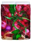 Rubies Organic Duvet Cover