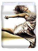 Rubinesque Dancer Duvet Cover