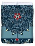 Rubino Zen Flower Duvet Cover