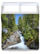 Ruby Falls On A Spring Afternoon Duvet Cover