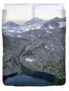 Ruby Lake Duvet Cover