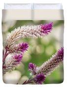 Ruby Parfait Celosia Duvet Cover