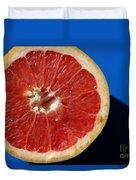 Ruby Red Grapefruit Duvet Cover