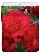 Ruby Red Duvet Cover