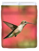 Ruby Throated Hummingbird 2016-6 Duvet Cover
