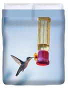 Ruby-throated Hummingbird 4 Duvet Cover