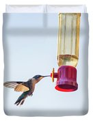 Ruby-throated Hummingbird 5 Duvet Cover