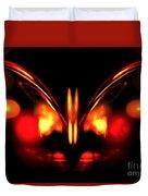 Ruby Wings Duvet Cover
