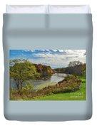 Ruddiman Pond Duvet Cover