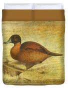 Ruddy Duck Duvet Cover
