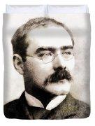 Rudyard Kipling, Literary Legend Duvet Cover
