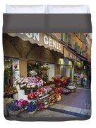 Rue Pairoliere In Nice Duvet Cover