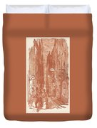 Rue Saint-severin Duvet Cover