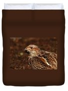 Ruffed Grouse Duvet Cover