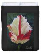 Ruffled Tulip  Duvet Cover