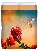 Rufous Dream Duvet Cover