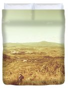 Rugged Bushland View Duvet Cover
