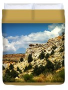 Rugged New Mexico Duvet Cover