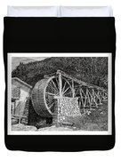 Ruidoso Waterwheel Duvet Cover
