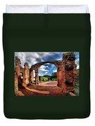 Ruinas En Altagracia Duvet Cover