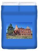 Ruined Church In Rural Utah Duvet Cover