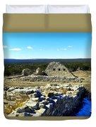 Ruins Of Gran Quivira  Duvet Cover