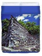 Ruins Of Nan Madol Duvet Cover