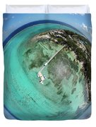 Rum Point Little Planet Duvet Cover