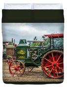 Rumley Oil Pull Tractor Duvet Cover