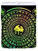 Runes Duvet Cover