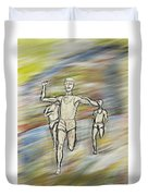 Runners Duvet Cover