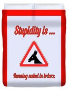 Running Bigstock Donkey 171252860 Duvet Cover