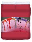 Running Colors Duvet Cover by Danielle Allard