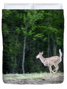 Running Deer Duvet Cover