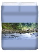 Running Water Duvet Cover