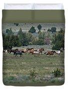 Running Wild Horses  Duvet Cover