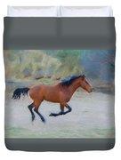 Running Wild Stallion Duvet Cover