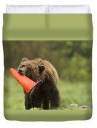 Runway Bear 2012 Duvet Cover
