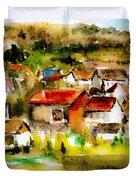 Rural City Duvet Cover