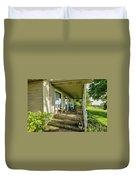Rural Front Porch Duvet Cover