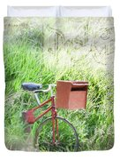 Rural Mailbox Duvet Cover