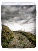Rural Path Duvet Cover