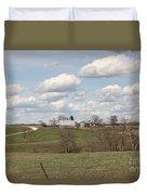 Rural Randolph County Duvet Cover