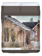 Rural Relic Duvet Cover