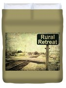 Rural Retreat Duvet Cover